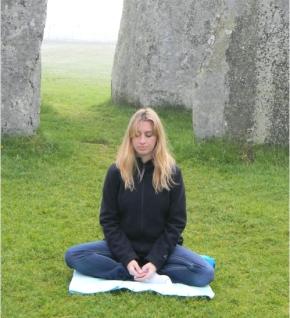 Sunrise Meditation in Stonehenge