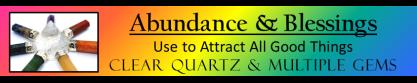 ROCK STARS- Abundance & Blessings