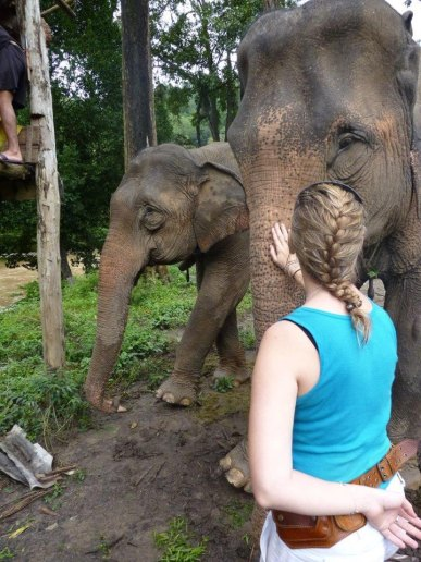 Making Friends in Chiang Mai, Thailand