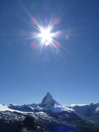 Matterhorn in Zermatt Switzerland