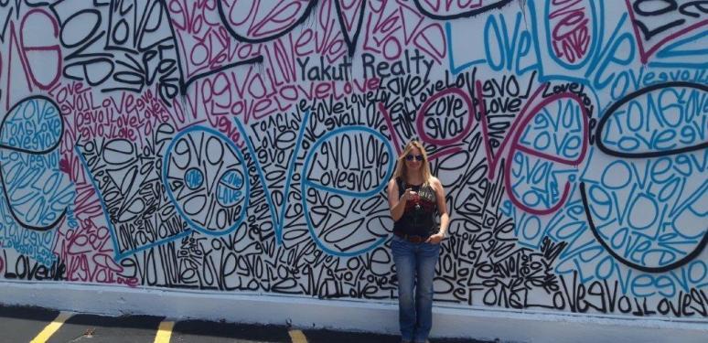 Love Wall in Dania Beach