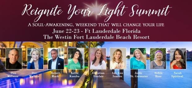 Reignite Your Light Summit June 22-23, 2019 in Fort